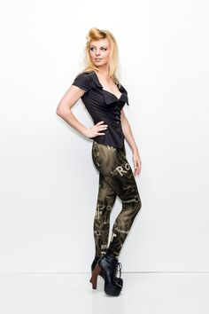 Deductions Leggings (US $69) by Gold Bubble Clothing