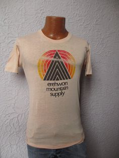 70's Vintage Mountain Supply Graphic T Shirt by PaisleyBabylon