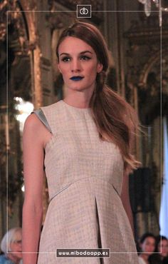 Desfile de @ThinkingAli en Atelier Couture 2015. Diseño de fiesta y novia. Fashion Desing.