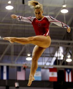 US Olympic gymnast Shawn Johnson. I cannot WAIT for the summer games!