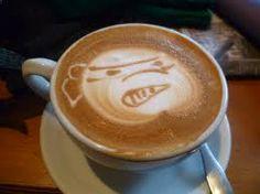 cappuccino art Cappuccino Art, Latte, Tableware, Creative, Food, Dinnerware, Tablewares, Essen, Meals