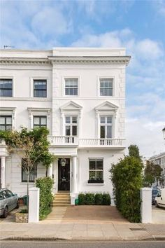 Semi-detached house for sale in Earls Court Road, London, - Rightmove. English Architecture, Architecture Details, Semi Detached, Detached House, London House, City Living, House Front, Victorian Homes, My Dream Home