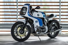 The 80s are back: Luka Cimolini's wild BMW R100 called 'Reise Custom.'