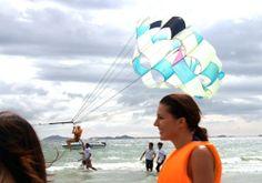 Những trò chơi trên biển khi du lịch Nha Trang