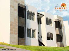 #conjuntosintegrales LAS MEJORES CASAS DE MÉXICO. En nuestro fraccionamiento Viñedos, encontrará el maravilloso modelo de vivienda OLMO, el cual está acondicionado con sala, comedor, cocina, 2 recámaras, estancia de TV, cuarto de lavado, 2 baños completos, patio y espacio para auto. En Grupo Sadasi, le invitamos a comprar su casa en nuestros desarrollos de Querétaro, donde le encantará vivir. raviadesc@sadasi.com