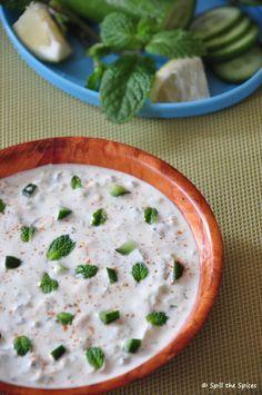 Spill the Spices: Cucumber Mint Raita