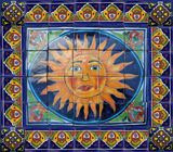 Dolores hidalgo wall tile mural