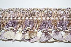 Samuel Sons Le Musee Silk Tassel Fringe Designer Trim Heather Melange | eBay