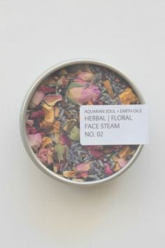 herbal floral face steam no. 2