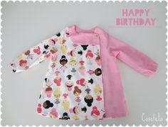 babi escolar infantil. Cosotela Boy Or Girl, Kids Outfits, Cold Shoulder Dress, Couture, Clothes, Tops, Dresses, Babys, Maria Jose