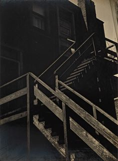 Luke Swank was one of the pioneers of modernism in photography and although well known in the after his death in 1944 he was largely forgotten. He became, in effect, a missing modernist. Museum Photography, Art Photography, Stairways, 1930s, Black And White, City, Modernism, Outdoor, Image