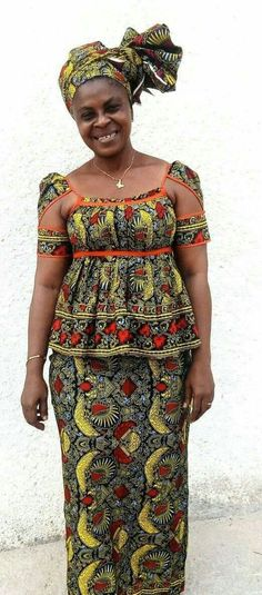 Short African Dresses, African Blouses, African Tops, African Print Dresses, African Lace, African Print Fashion, African Fashion Dresses, African Fabric, Fashion Prints