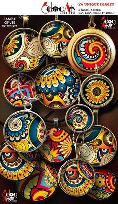 Best 12 Decorative Ceramic Mandala Plates by Mercadolibre – SkillOfKing. Image Collage, Collage Art, Resin Pendant, Pottery Painting, Dot Painting, Paisley Design, Unique Image, Schmuck Design, Collage Sheet