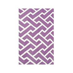 Resort Sawyer 25450 Purple Indoor/Outdoor Area Rug (935 BAM) ❤ liked on Polyvore featuring home, rugs, purple rug, modern contemporary rugs, contemporary area rugs, contemporary rugs and patterned area rugs