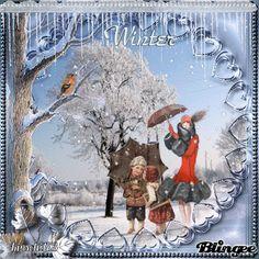 Vintage Winter - Familienausflug