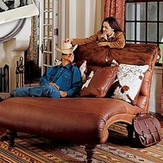 KING RANCH GRANDE CHAISE 9971