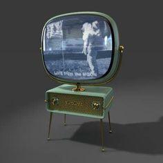 Tags: Philco Predictra TV television vintage modern retro electronics video furniture household entertainment interior clasic Sci-fi Si-F Vintage Tv, Vintage Antiques, Vintage Space, Vintage Modern, Vintage Green, Radios, Vintage Television, Television Set, Alter Computer