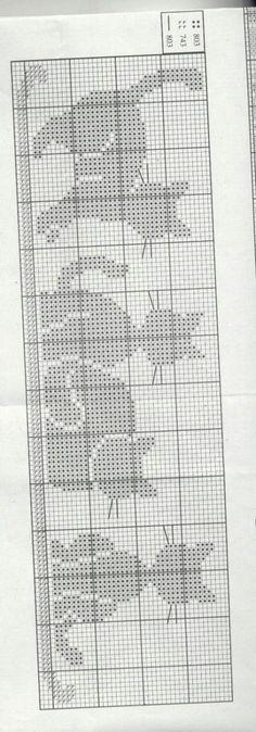Apiment& Ponto de Cruz - Passionate about Cross Stitch, # . - Apiment& Ponto de Cruz – Passionate about Cross Stitch, # - Crochet Bookmarks, Cross Stitch Bookmarks, Cross Stitch Charts, Cross Stitch Designs, Cross Stitch Patterns, Loom Patterns, Cat Cross Stitches, Cross Stitching, Cross Stitch Embroidery