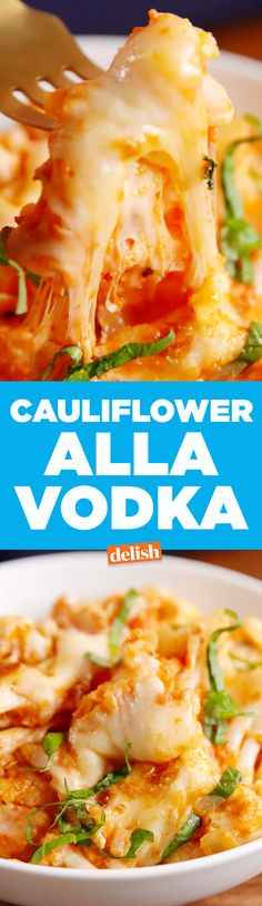 Cauliflower Alla Vodka is the low-carb dinner people will beg you to make. Get the recipe on Delish.com.