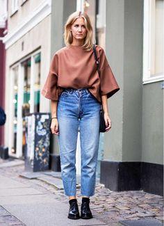 La Prueba Definitiva De Que Los Mom Jeans Pueden Verse Estilosos (via Bloglovin.com )