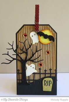 A Paper Melody: MFT's September Creative Challenge - Halloween Happenings