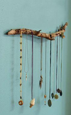 Para os colares  Porta-jóias