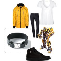 Bumblebee from transformers. # wear what you watch Transformers Bumblebee, Transformers Optimus Prime, Marvel Inspired Outfits, Eyeshadow Designs, Fashion Clothes, Fashion Outfits, Casual Cosplay, Teenager Outfits, Nice Outfits