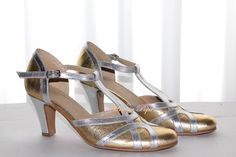 Tango shoes Salsa Shoes Dance Shoes Latino Dance by VictorianBoots