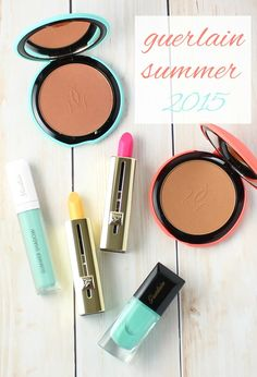 Guerlain Summer Makeup Collection with the most beautiful eyeshadow and bronzer that highlights the skin to make it glow!