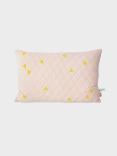 Teepee Quilted Cushion - Rose 1