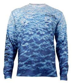 365bd64872175 Salt Life Metal Seas SLX UVapor Long-Sleeve Pocket T-Shirt for Men