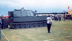 M109A2 in the British Army