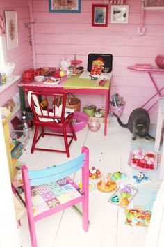 Makes play room to look like inside of a play house!