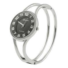 Geneva Platinum Polished Bangle Women's Watch Geneva. $19.99