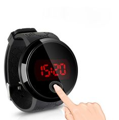 Brand new and high quality Shows time digital numbers Display time in numbers indicate the hour, minutes and seconds Display the day, date of the week Additional RED LED function to show the time clearly in dark areas water resistant With its elegant and contemporary design, it is very popular A perfect present for friends, families, lovers etc   #tmart #watches