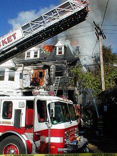 Pawtucket Fire Department (RI)   Station 2 / Ladder 1 @ 710 main street