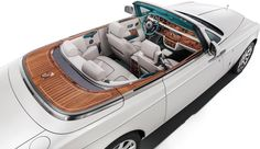 #Bespoke #RollsRoyce Maharaja Phantom Drophead Coupe pays tribute to the golden age of #Indian royals