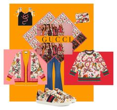 """""""The contest"""" by aleshasmurf on Polyvore featuring Gucci"""