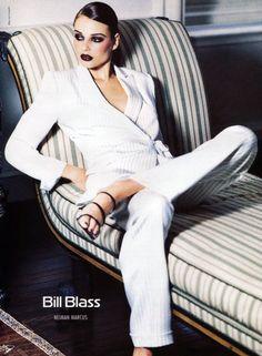 (39) Tumblr Bridget Hall, Ellen Von Unwerth, Bill Blass, Trending Topics, Spring Summer Fashion, White Jeans, Collection, Chic, How To Wear