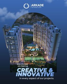 Being creative and unique empowers us to develop exceptional residential projects. By virtue of this belief, we are able to meet the increasing demand for luxurious as well as innovative homes. . . . #Innovative #CreativeThinking #Approach #Uniqueness #Exclusivity #ResidentialProjects #LuxuriousHomes #Luxury #Lifesetyle #RealEstate #Arkade Real Estate Advertising, Real Estate Ads, Advertising Design, Real Estate Marketing, Creative Poster Design, Ads Creative, Creative Posters, Graphic Design Posters, Real Estate Banner