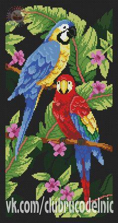 Community wall photos – 49,208 photos Cross Stitch Bird, Cross Stitch Animals, Cross Stitch Embroidery, Cross Stitch Patterns, Quilt Patterns, Cross Stitch Tutorial, Punch Needle Patterns, Perler Bead Art, Stitch Kit