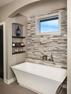 Adorable 75 Fresh and Cool Master Bathroom Remodel Ideas on A Budget https://decorapatio.com/2017/07/28/75-fresh-cool-master-bathroom-remodel-ideas-budget/