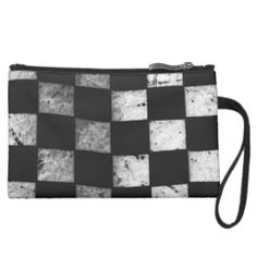 Checkered Flag Sueded Mini Clutch- Take it with you on race day. Several styles to choose from and customizable, too!