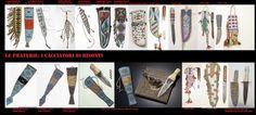 """I primi strumenti utilizzati per lo scotennamento erano coltelli litici (selce,ossidiana), o di altri materiali (canne o conchiglie) utilizzati anche per una serie di altre attività quotidiane. In seguito sostituiti da lame di metallo acquisite dai commercianti euroamericani. Definito come """"coltello per scontentare"""" nella letteratura popolare americana ed europea, non era altro che uno strumento di utilità multiuso semplice ed efficace per i quali la scotennatura non era che uno dei molti…"""
