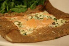 Galette bretonne au saumon