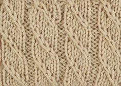 Take a peek at our latest Something for the Weekend instalment! This week, discover the slip chain cable stitch! This pretty cable is simple to do and is created without the use of a cable needle. By incorporating the use of left twists with basic stitches within the pattern, this mock cable stitch is easy to achieve. …