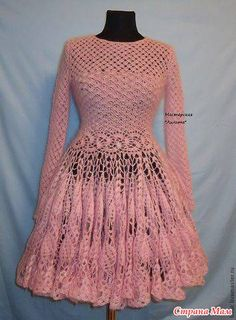 Crochet Summer Baby Dress Pattern Free Crochet Dress For Baby Girl Crochet Summer Dresses, Crochet Skirts, Crochet Clothes, Vintage Crochet, Crochet Lace, Beach Crochet, Crochet Jumper, Mode Crochet, Crochet Wedding