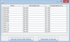 Arduino a Excel