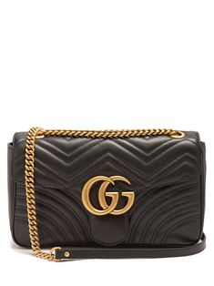 59dc03546 GG Marmont medium quilted-leather shoulder bag | Gucci | MATCHESFASHION.COM  US