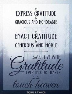 Thomas S. Monson - October 2010 LDS General Conference  #lds #ldsconf #gratitude
